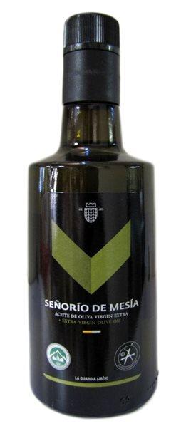 Señorío de Mesía. Aceite de oliva Picual. Botella de 500ml.