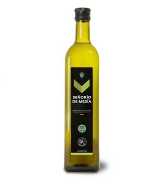 Señorío de Mesía. Aceite de oliva Picual. Caja de 12 x 750 ml.