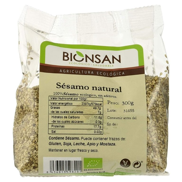 Natural organic sesame -300gr