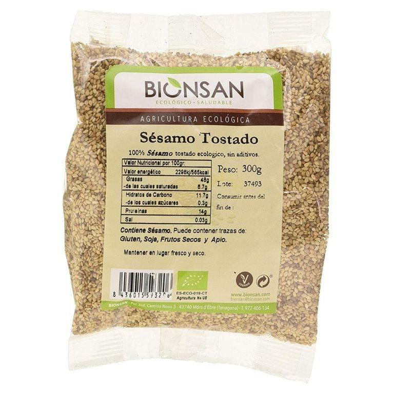 Organic roasted sesame -300gr
