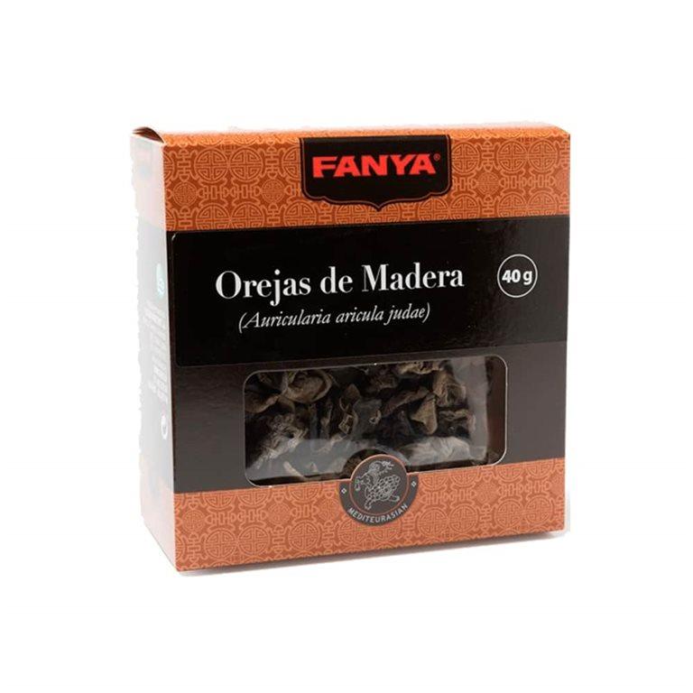 Seta Negra China Orejas de Madera 40g Fanya