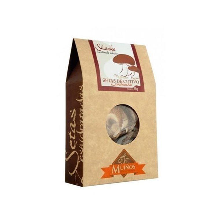 Seta shiitake deshidratada, 30 gr