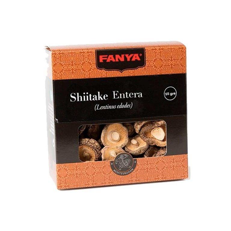 Seta Shiitake Entera 55g Fanya
