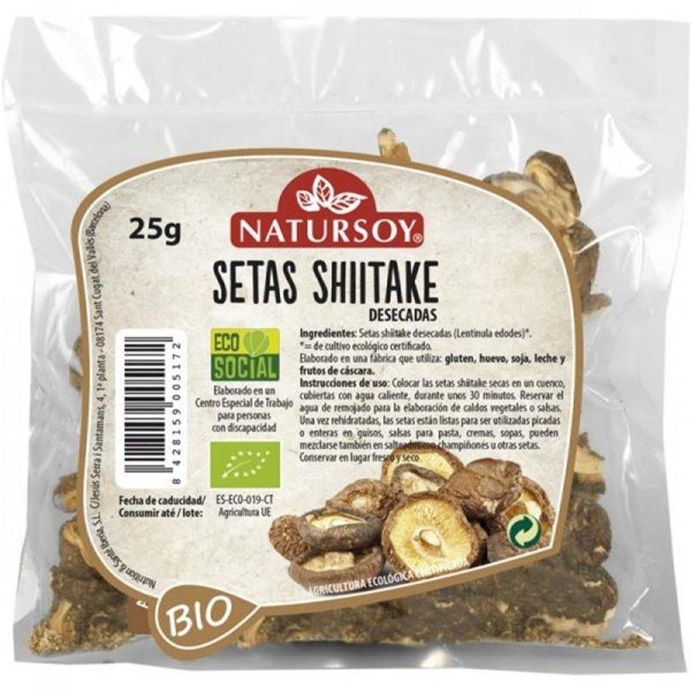 Setas Shiitake Deshidratadas Bio 25g