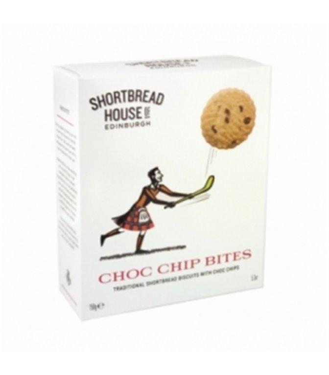 Shortbread Choco Chips 150gr. Shortbread House of Edinburgh. 8un.