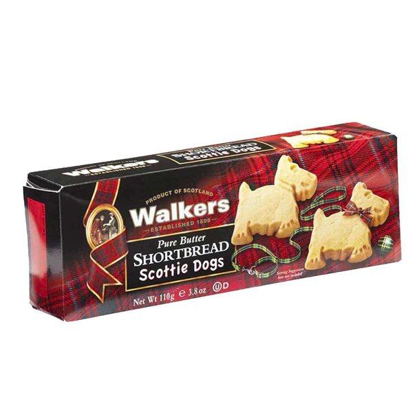 Shortbread scottie dogs galletas de mantequilla 110 g Walkers