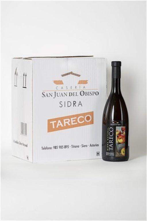 Sidra Tareco (Pack 6 Botellas)