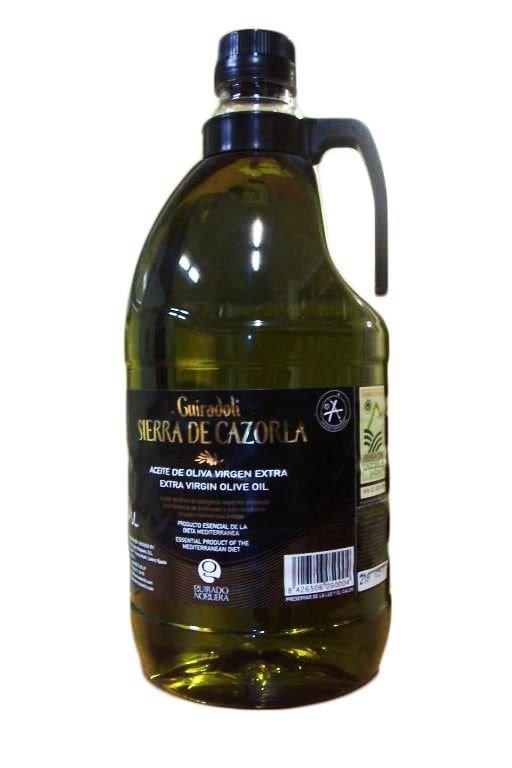 Sierra Cazorla. Aceite de oliva Picual. 2 Litros.