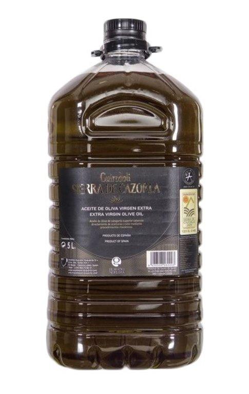 Sierra de Cazorla. Aceite de oliva Picual. 5 litros., 1 ud