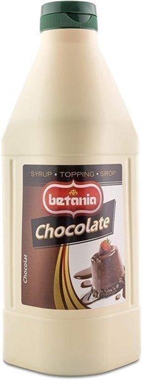 SIROPE SABOR CHOCOLATE 1L CAJA 6 UDS