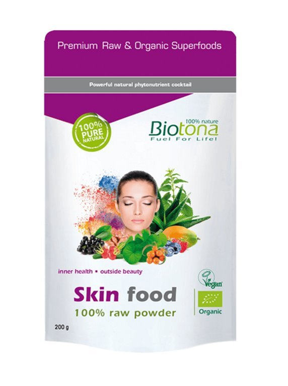 Skin Food powder bio raw, 200 gr