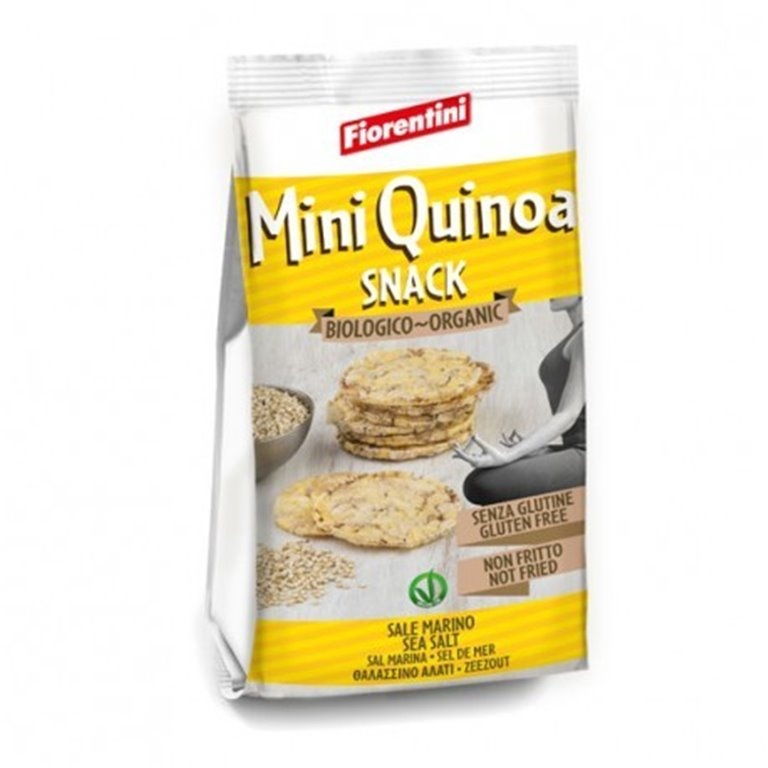 Snack Mini Maiz Quinoa S/G, 1 ud