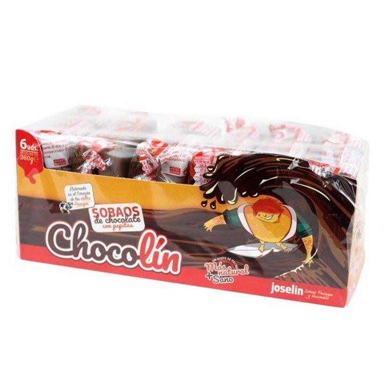 Sobaos Pasiegos Chocolate Chocolín 6u