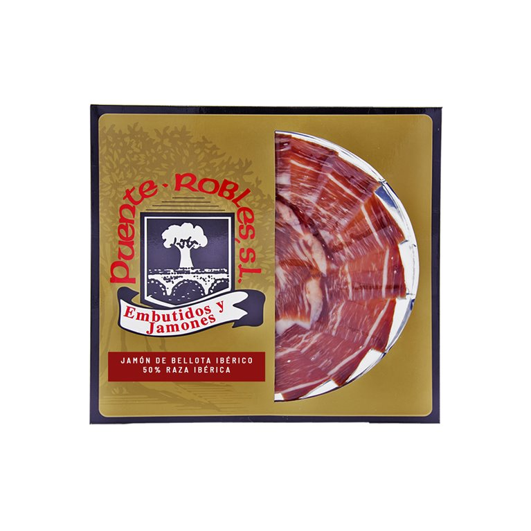 PACKETS OF 100 GRS. OF IBERIAN ACORN-FED HAM 50% IBERIAN BREED CUT BY KNIFE (PROFESSIONAL)
