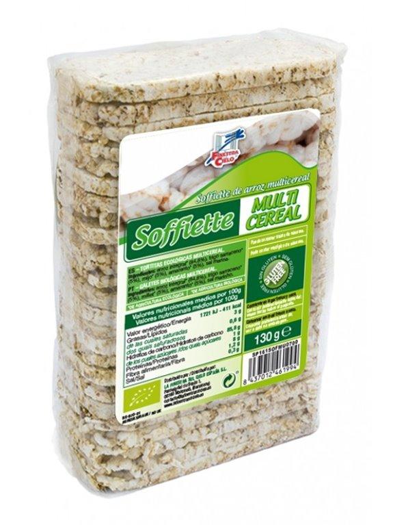 Soffiette Multicereal Sin Gluten Bio 130g