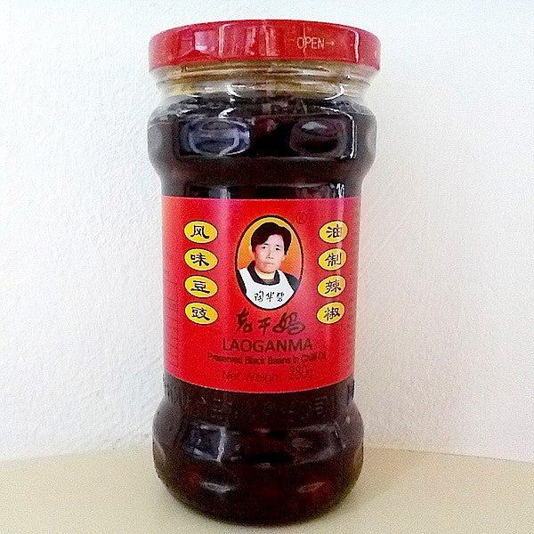 Soja negra en conserva de aceite de chile 280g