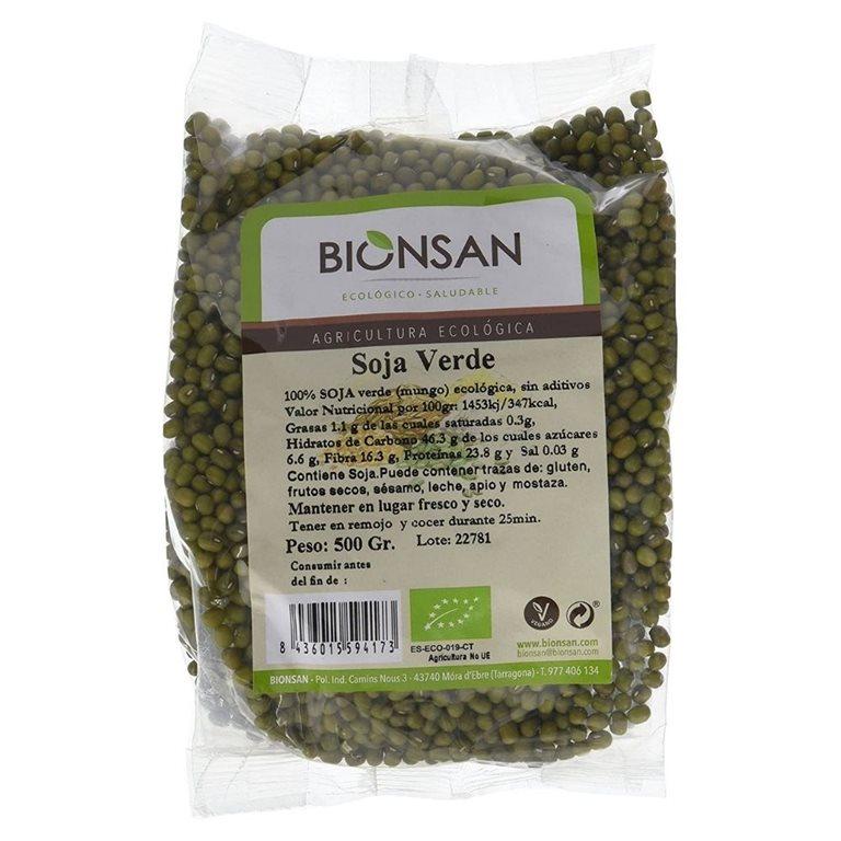 Soja verde en grano ecológica -500gr