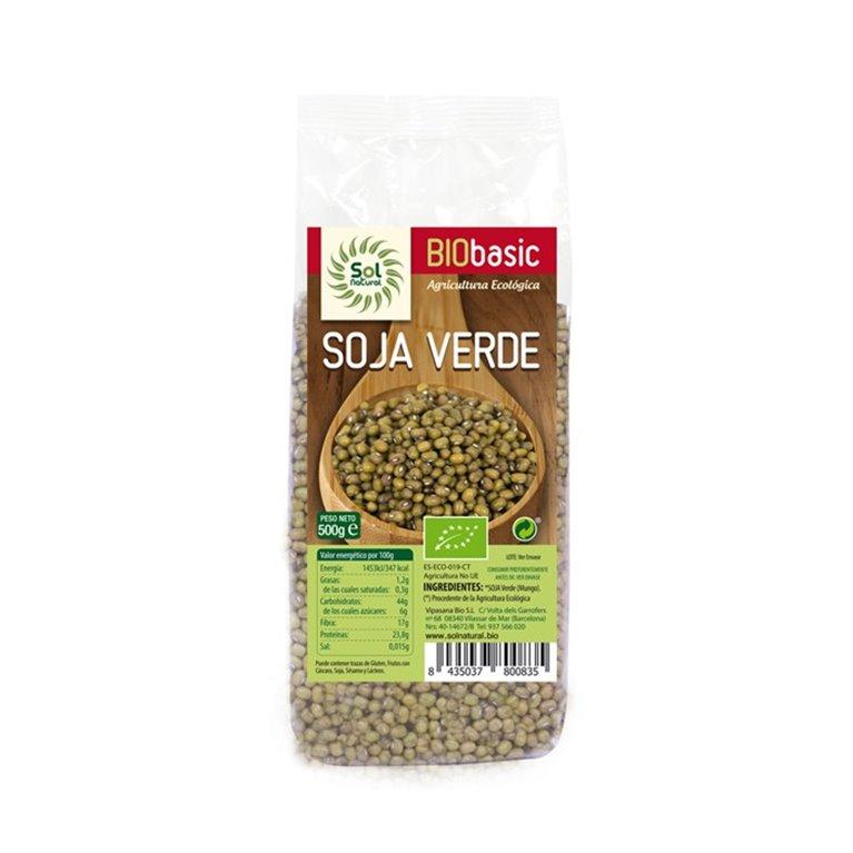 Soja verde Solnatural 500g