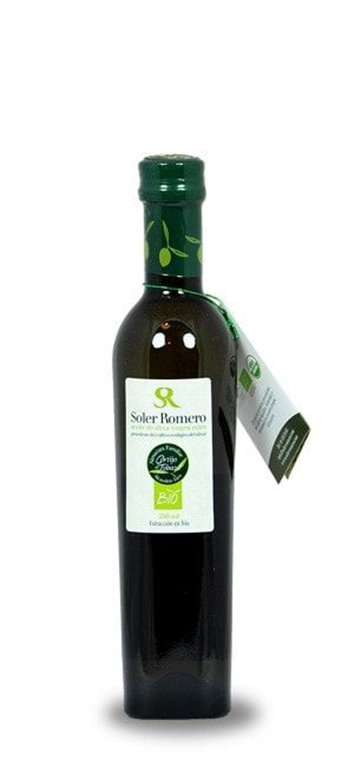 Soler Romero. Aceite de oliva Picual. 24 botellas de 250 ml.