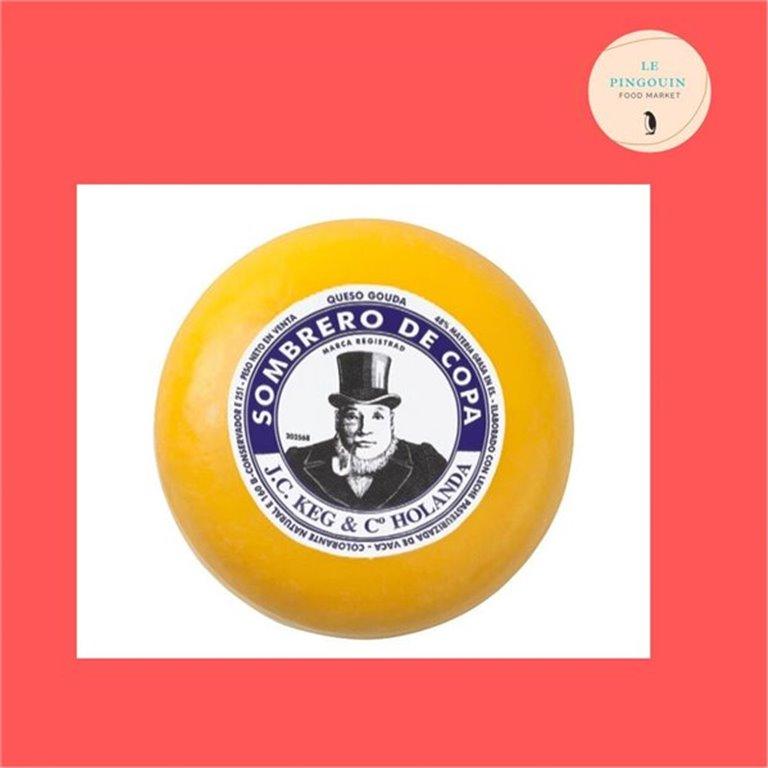 Sombrero de copa, gouda 4.300 aprox, 4,30 kg