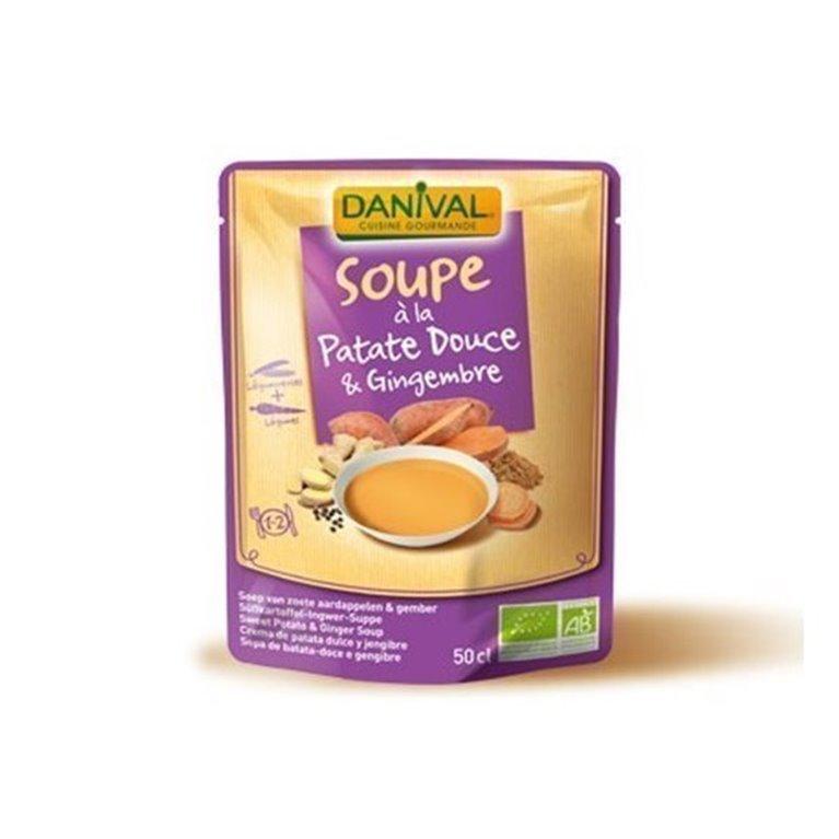 Sopa Boniato Jengibre Y Curcuma, 1 ud