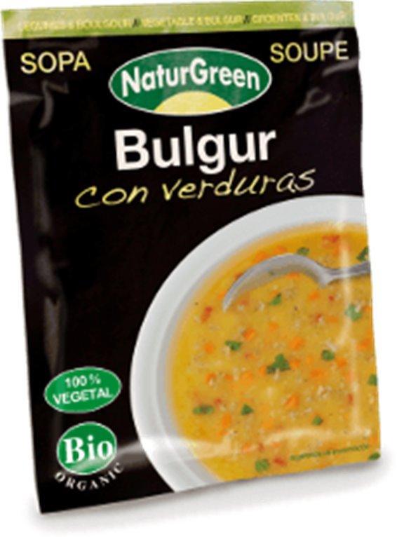 Sopa Bulgur con verduras, 40 gr