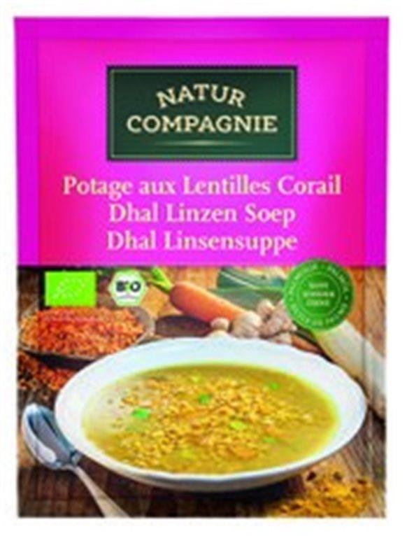 Sopa de Lentejas estilo Dahl
