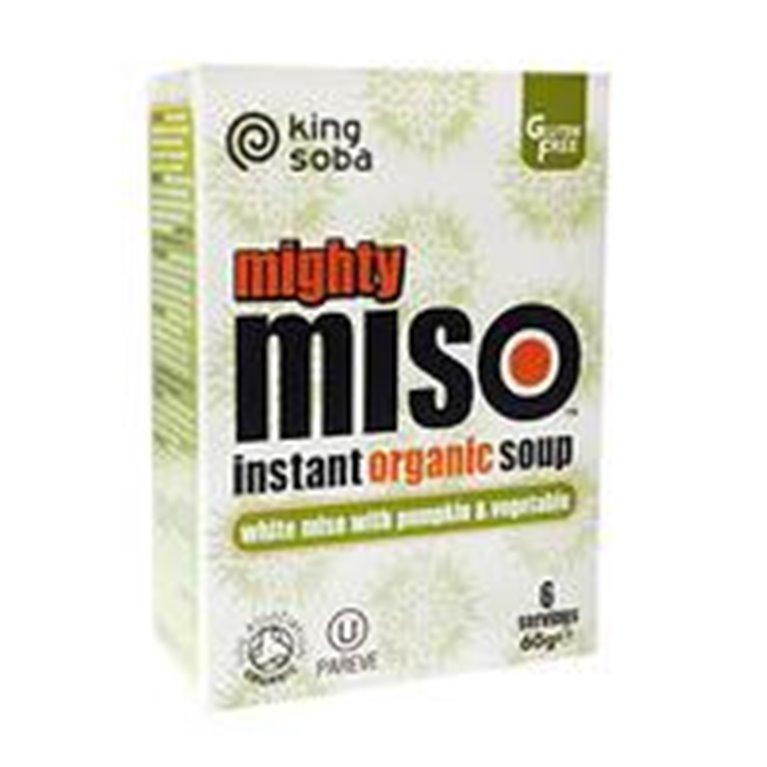 Sopa de Miso con Calabaza y Verduras Sin Gluten Bio 60g