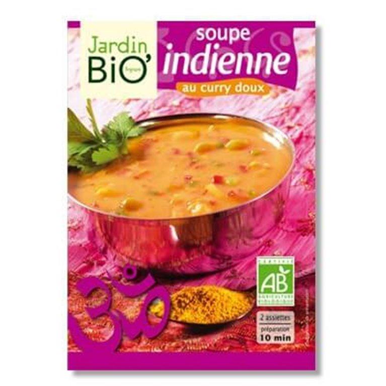 Sopa india con curry, 100 gr