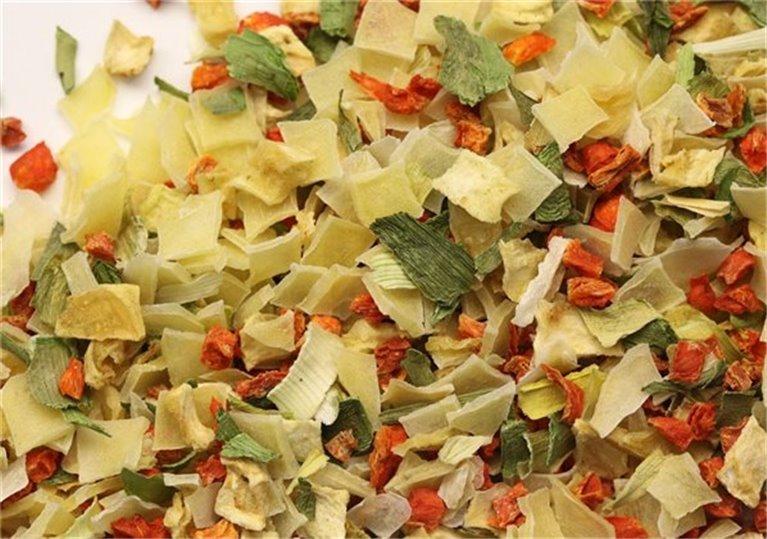 Sopa juliana 300 gr (repollo, zanahoria, puerro, nabo y apio)