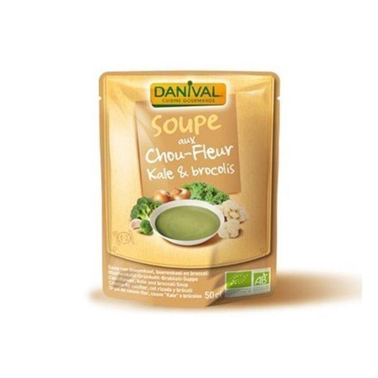 Sopa Kale Brocoli Y Coliflor Vegan, 1 ud