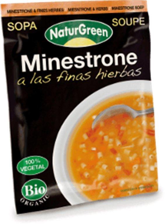 Sopa Minestrone a las finas hierbas, 40 gr
