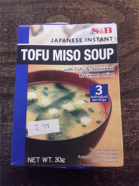 Sopa miso con tofu 30g