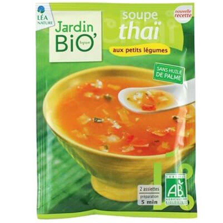 Sopa Thai con legumbres, 100 gr