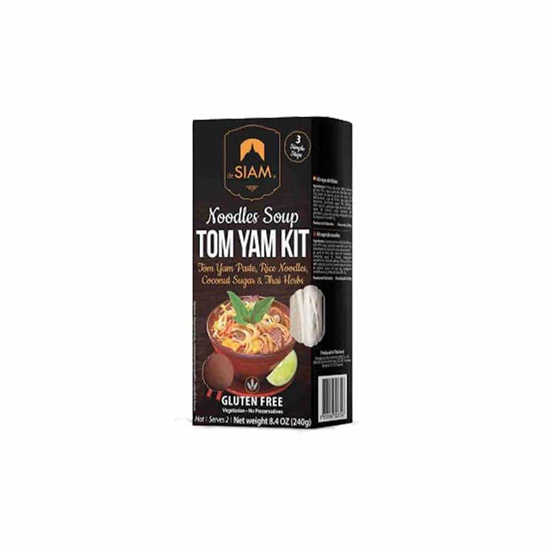 Tom Yam Noodles Soup 240g Desiam