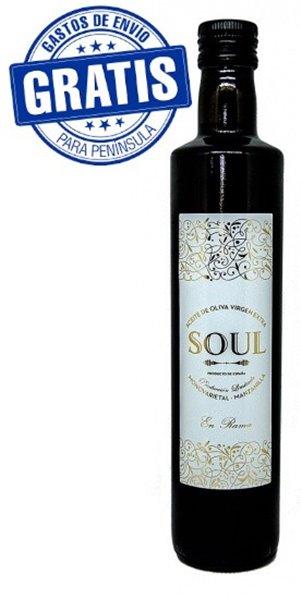 Soul Envero. Aceite de Oliva Virgen Extra. Caja de 6 x 500 ml.