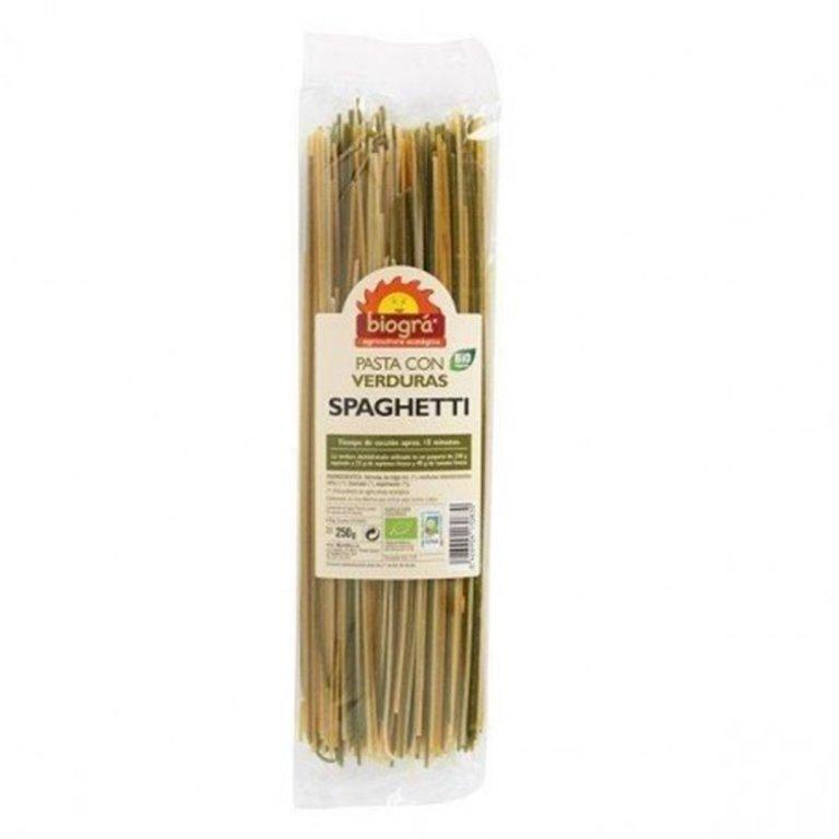 Spaghetti con Verduras Bio 250g