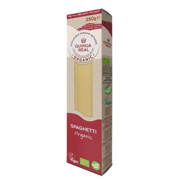 Spaghetti de Arroz y Quinoa Real Sin Gluten Bio 250g