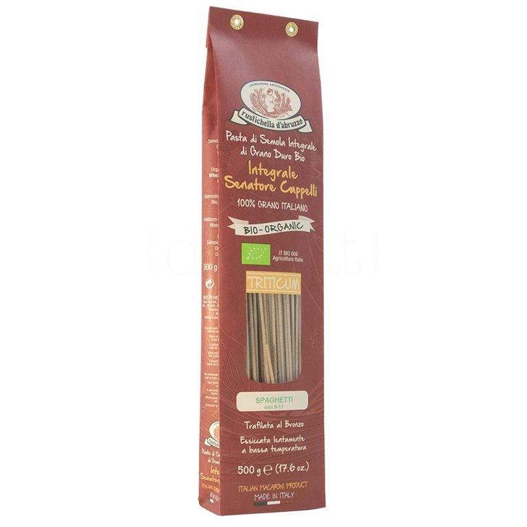 Spaghetti de Espelta Integral BIO 500gr. Rustichella D'abruzzo. 12un., 1 ud