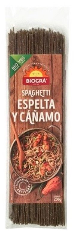 Spaghetti de Espelta Integral y Cáñamo Bio 250g