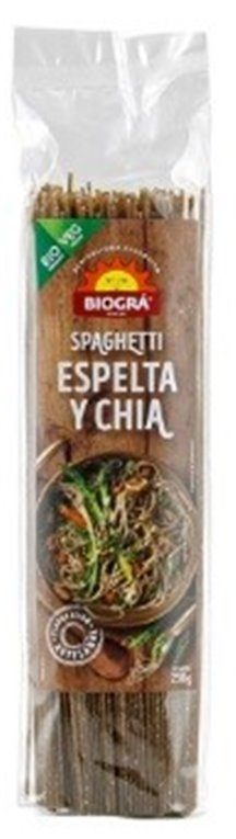 Spaghetti de Espelta Integral y Chía Bio 250g