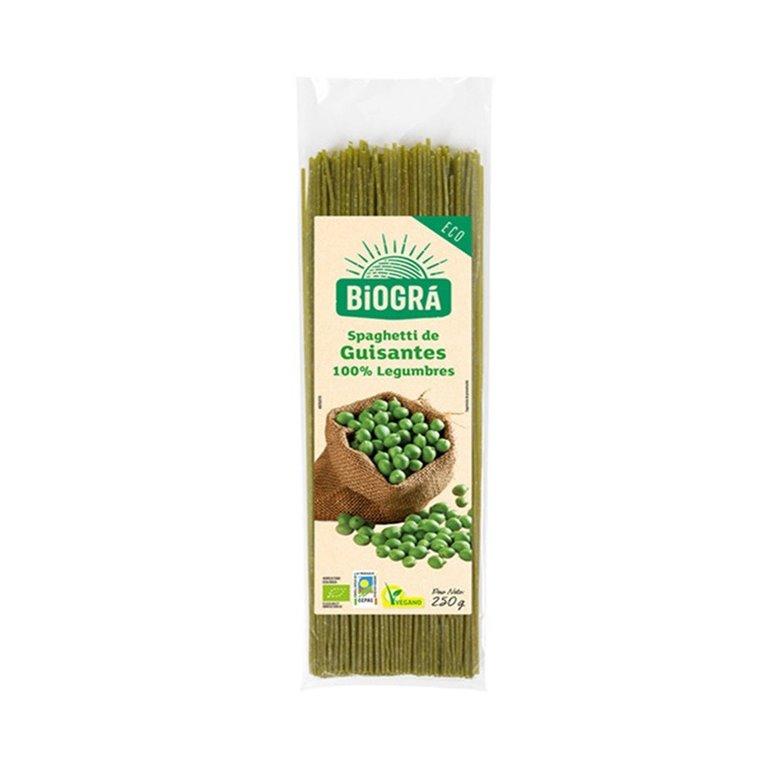Spaghetti de Guisante Bio 250g