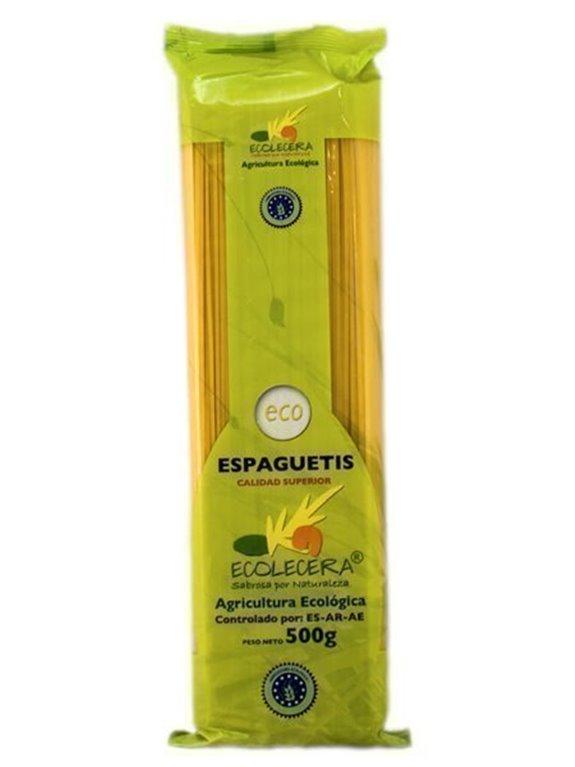 Spaghetti Ecológico De Trigo, 500 gr
