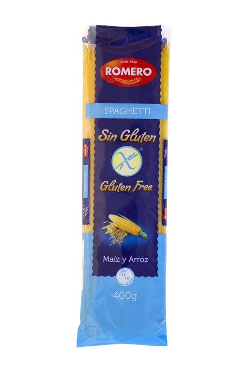 Spaghetti SIN GLUTEN Pastas Romero