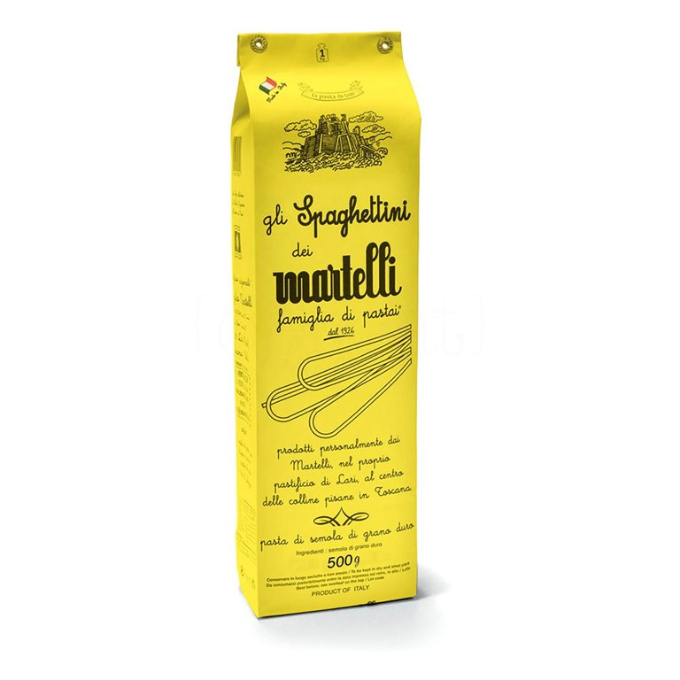 Spaghettini de Pisa 500gr. Martelli. 20un., 1 ud