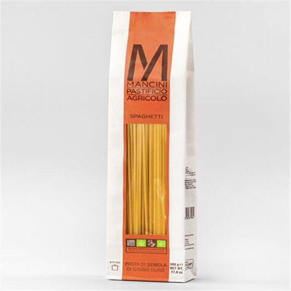 Spaguetti 500 gr. Mancini