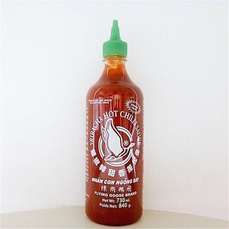 Sriracha , salsa de chile picante thai grande