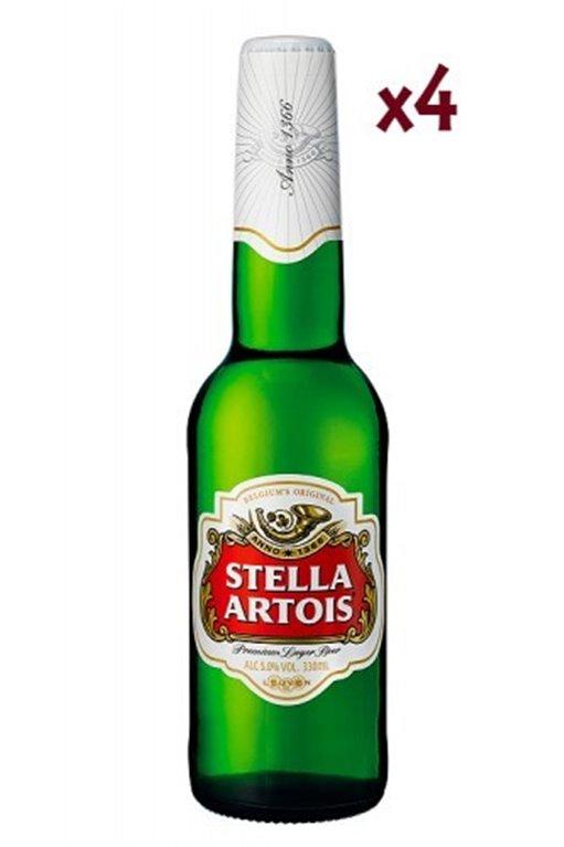 Stella Artois 33 Cl Pack 4 Uds