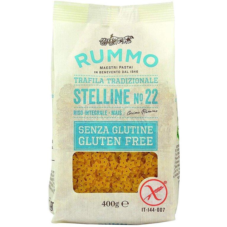 Stelline (Estrellitas para Sopa) de Arroz Integral y Maíz Sin Gluten 400g