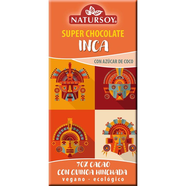 Super Chocolate Inca 70% Cacao con Quinoa Hinchada Bio 100g
